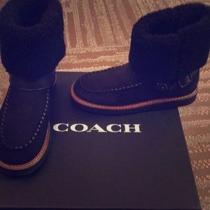 NEW COACH BOOTS